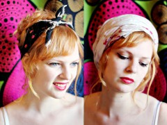 6 Ways to use vintage headbands