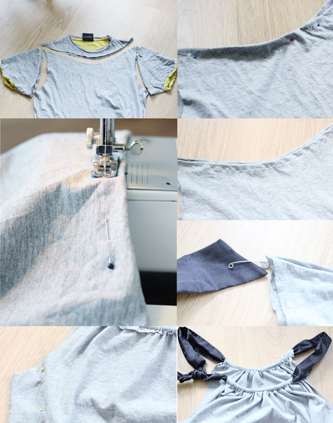 DIY | MENS SHIRT INTO WOMEN'S TOP
