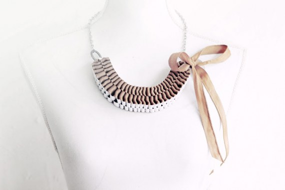 DIY | Anthropologie Inspired Accordion Strands Necklace