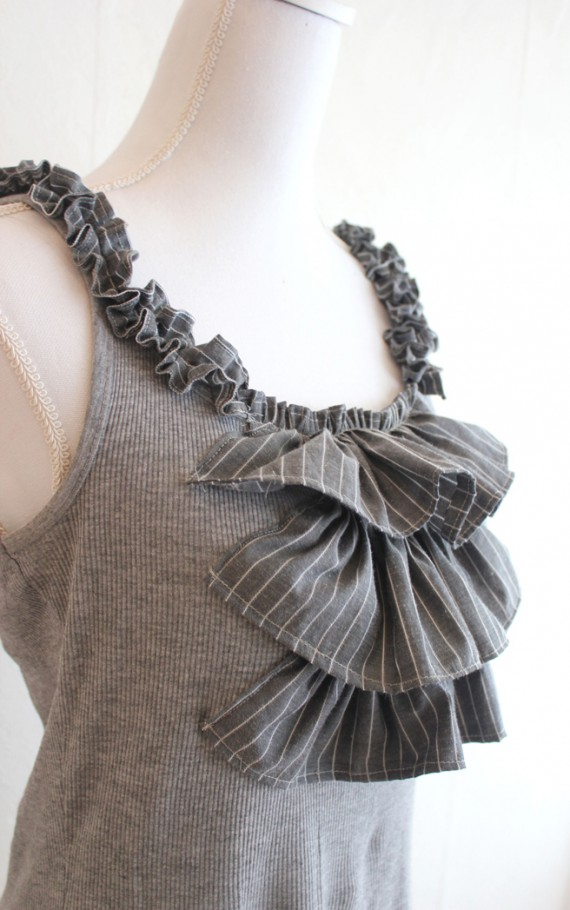 DIY | Ruffled Top