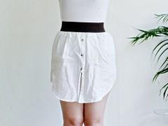 UPCYCLING DIY   Mens Shirt Into Skirt