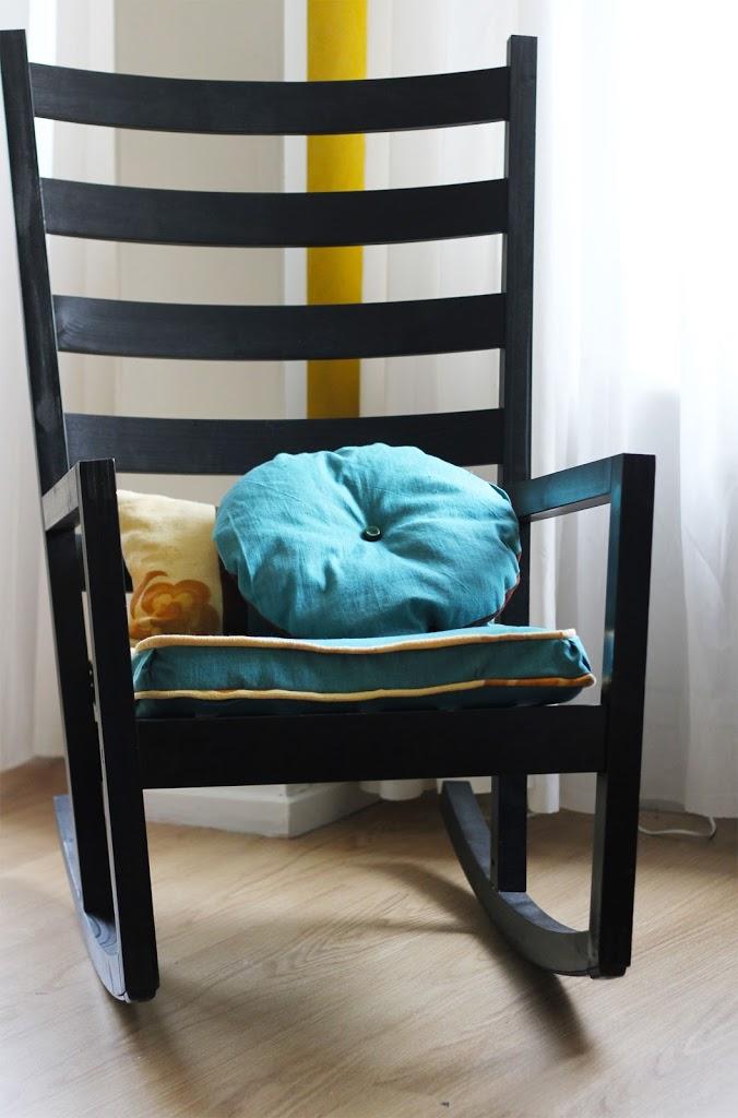 Cushion restyle diy - Rocking chair cushion diy ...