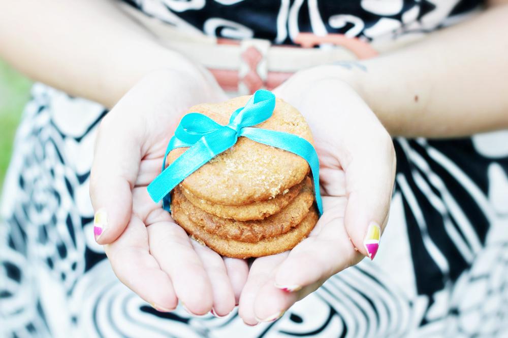 RECIPE   Peanutbutter Cookies