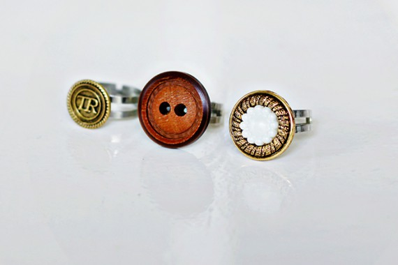 UPCYCLING DIY | Button Rings