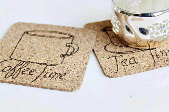 DIY | Cork Coaster