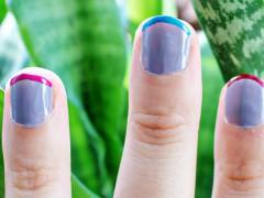 NAIL DIY | Color Striped Nails
