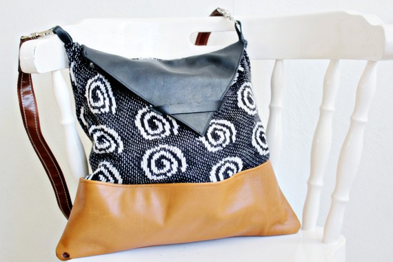 DIY   Sweater Bag