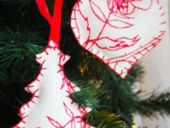 DIY | Felt Christmas Ornaments