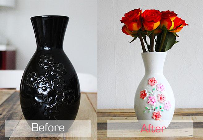 Обновить вазу своими руками картинки 30