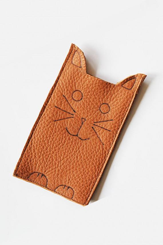 DIY   Cat Phone Sleeve