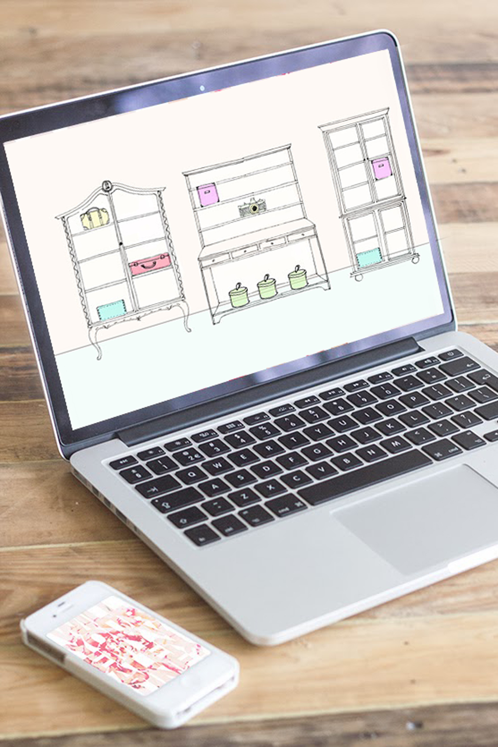 TECH DIY   Organizing Desktop
