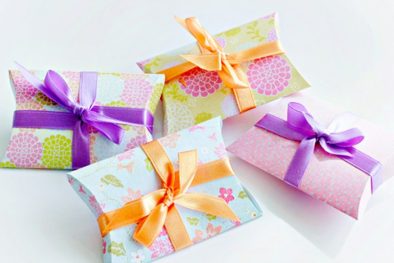 DIY | Pillow Gift Box