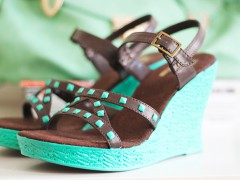 DIY | Restyled Wedges