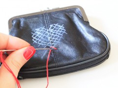 DIY   Cross-Stitch Wallet