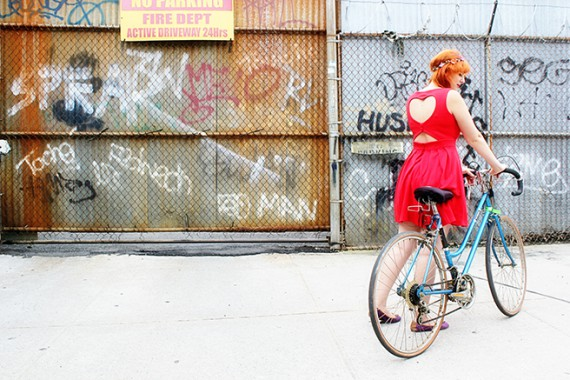 OUTFIT | Bikes,Hearts & New York City