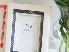 DIY | Picture Frame Restyle