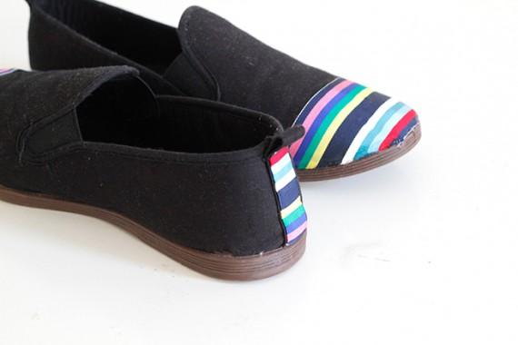 DIY   Shoe Restyle