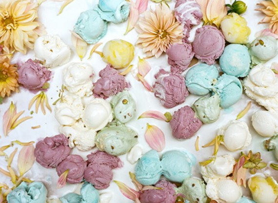 Inspirational Tuesday   Floral Scoops