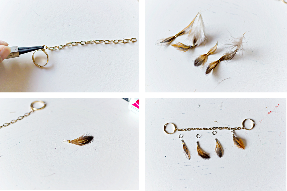 DIY | Feather Ring