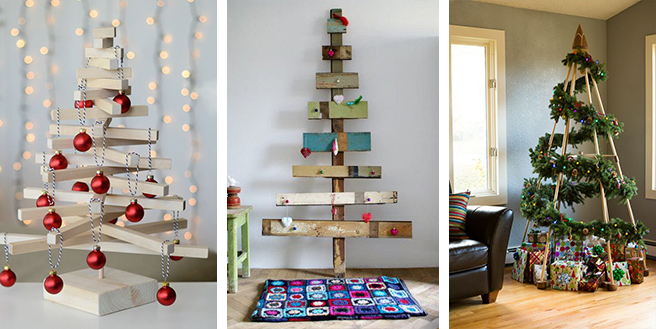 christmas _ 15 alternative christmas tree ideas 4 - Ideas For Christmas Trees