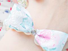 DIY | Fancy Stretchy Pearl Bow Bracelet