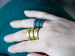 DIY | Leather Rings