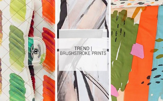 TREND | Brushstroke Prints