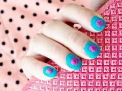 NAIL DIY | Velvet Nail Art