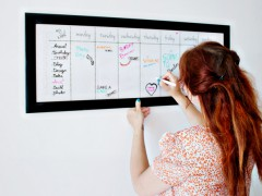 DIY | From Picture Frame To Dry Erase Board