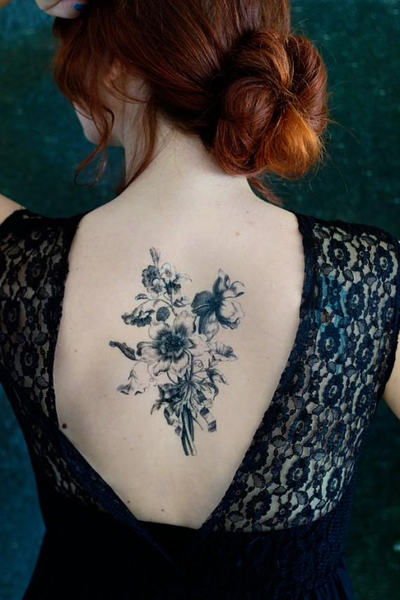 DIY   Temporary Art Tattoo