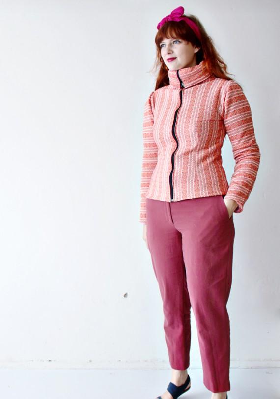 DIY   From Blanket to Fleece Sweater