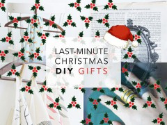 DIY | Last-Minute Personalized Christmas Gifts (under 60 minutes!)