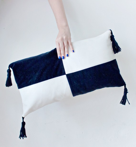 DIY | Colour Block Cushion Cover