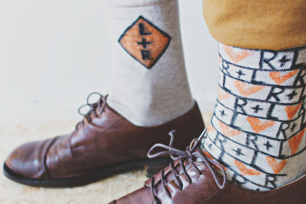DIY Personalised Socks