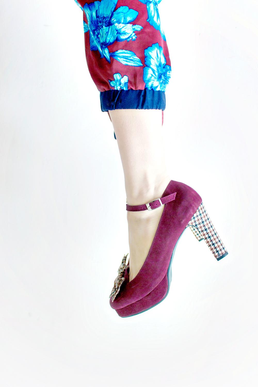 Chunky Heel Pumps Trend