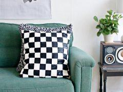 DIY | Cushion Cover Weaving