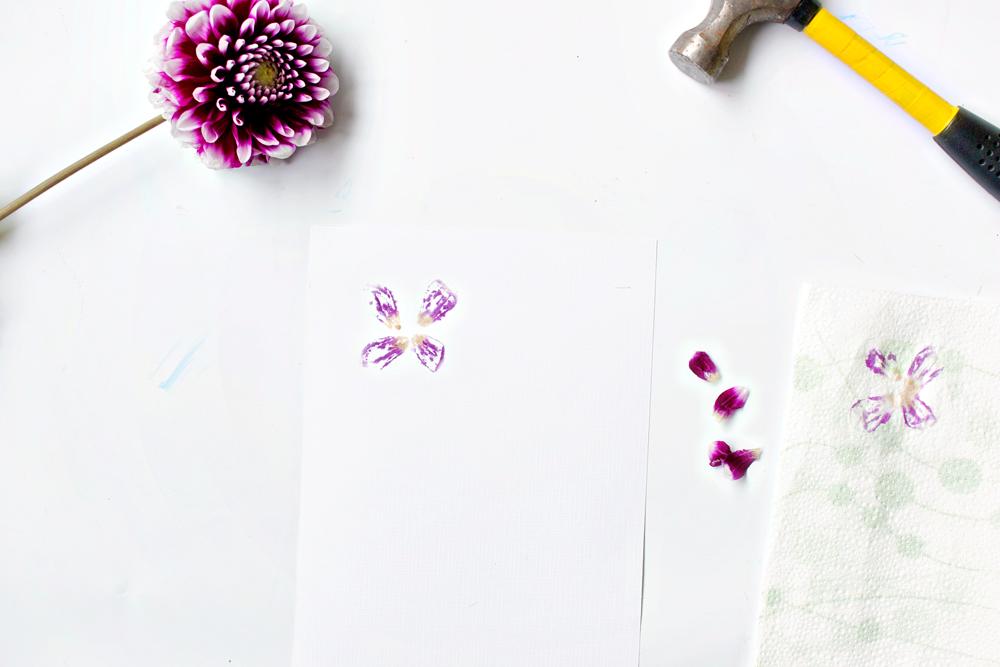 DIY Flower Printing