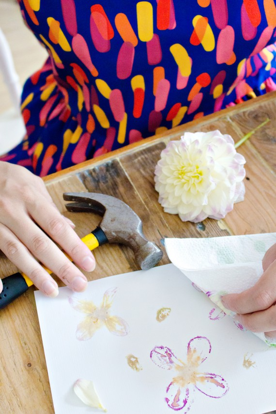 DIY | Flower Printing