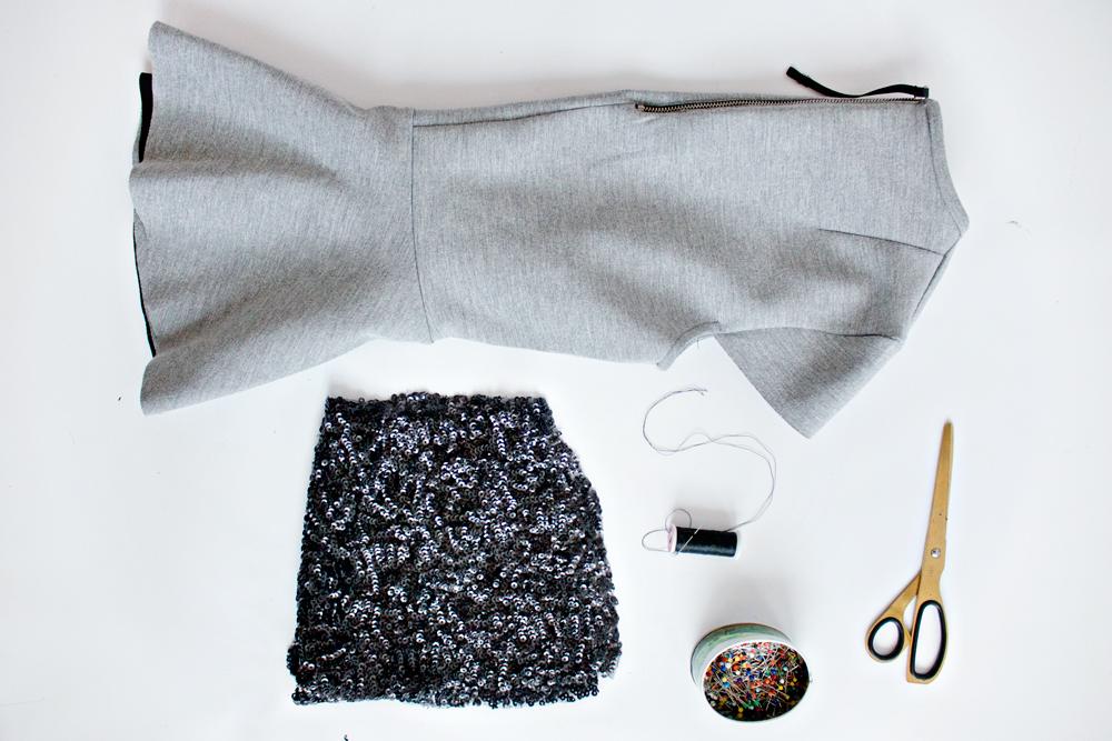 DIY | Sequin Heart Top