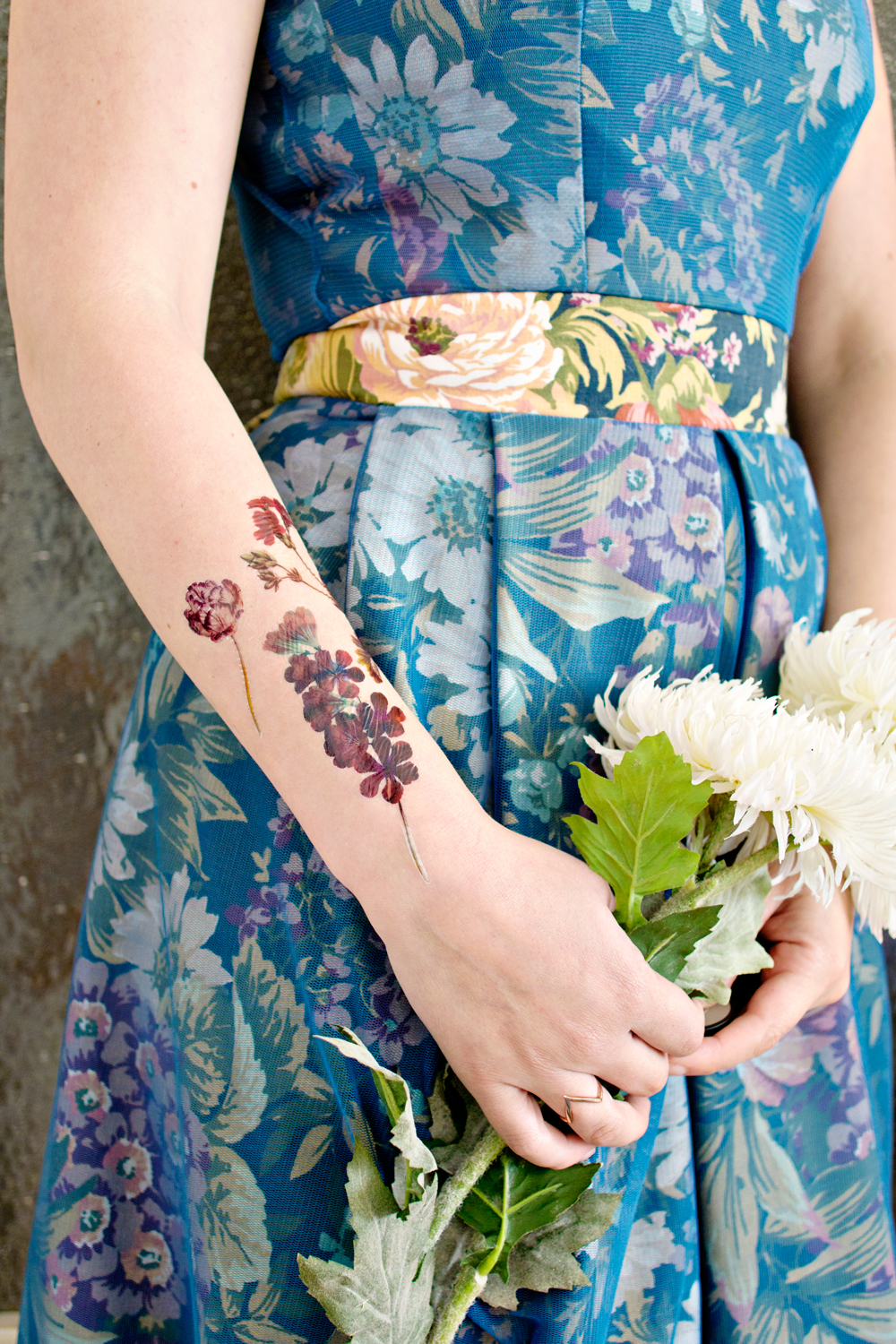 FEATURE | Mollie Makes Temporary tattoo