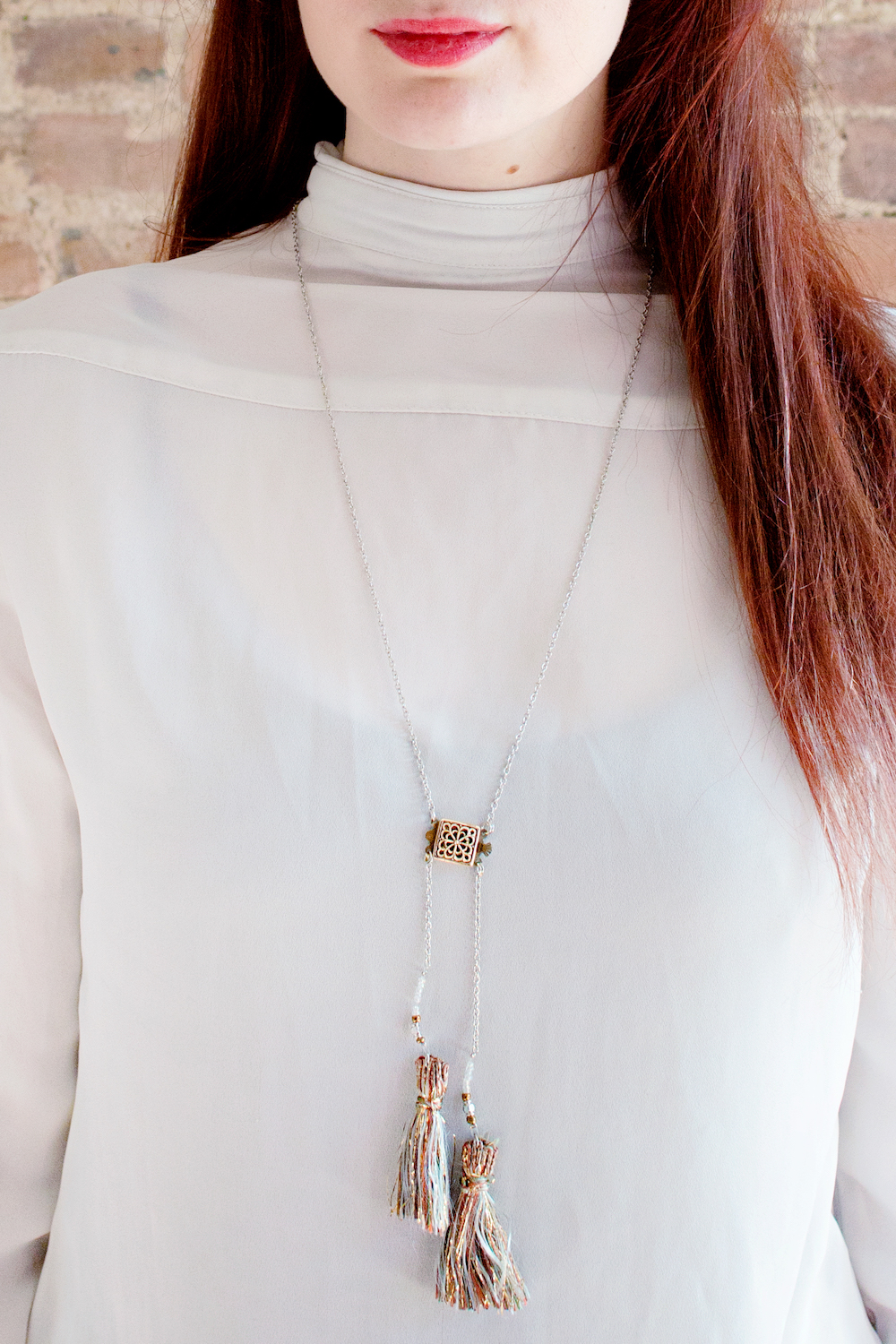 DIY | Tassel Necklace