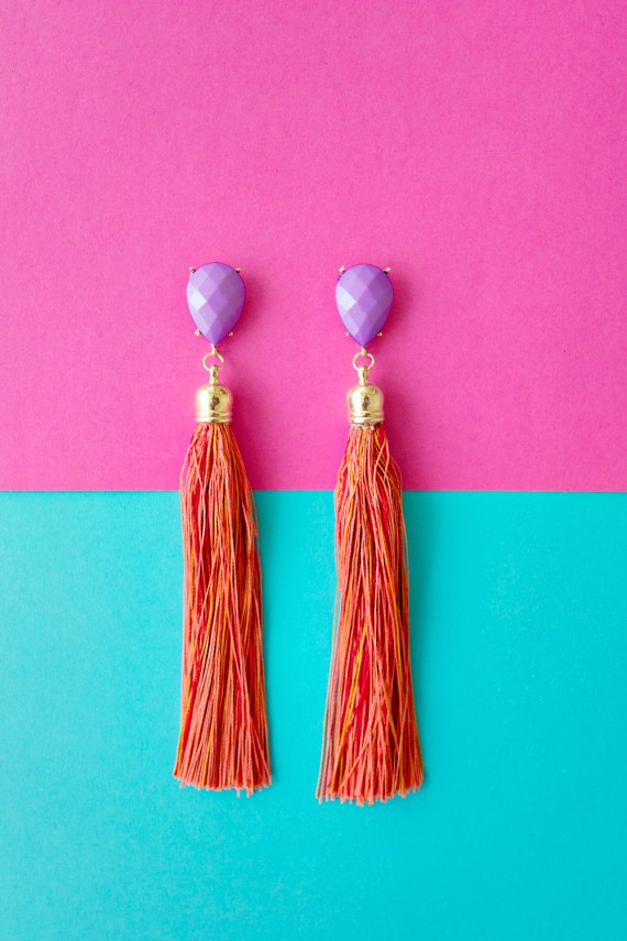 FEATURE | Tassel Earrings DIY