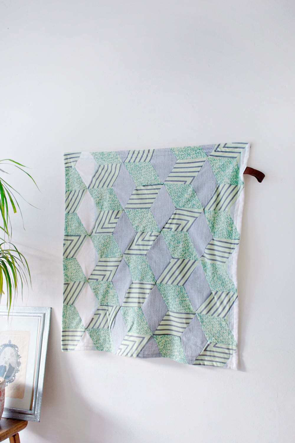SEWING DIY | Geometric Blanket