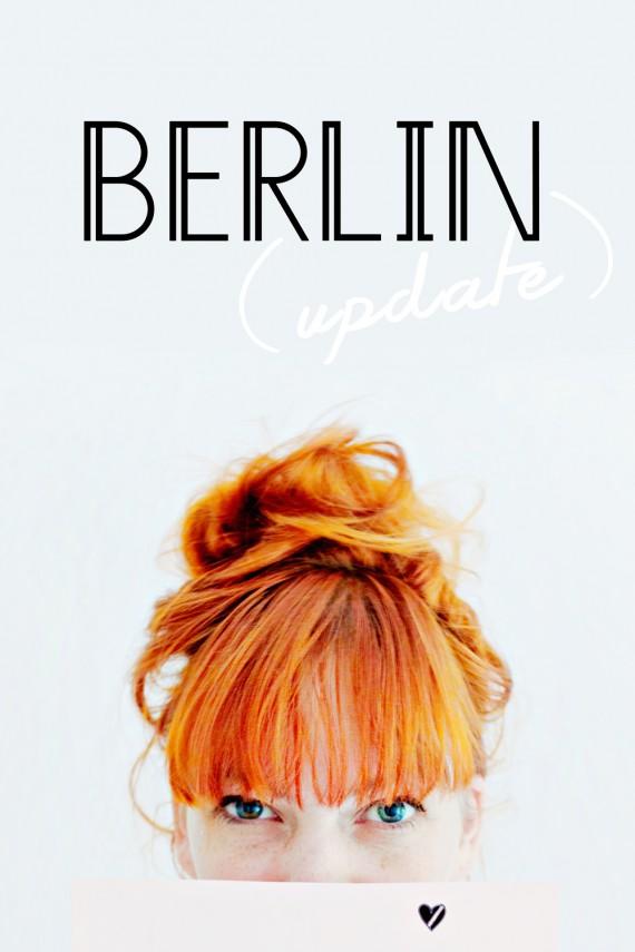 PERSONAL | Berlin Update