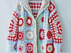 CROCHET DIY   Granny Square Sweater