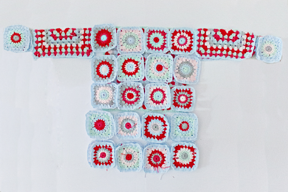 CROCHET DIY | Granny Square Sweater