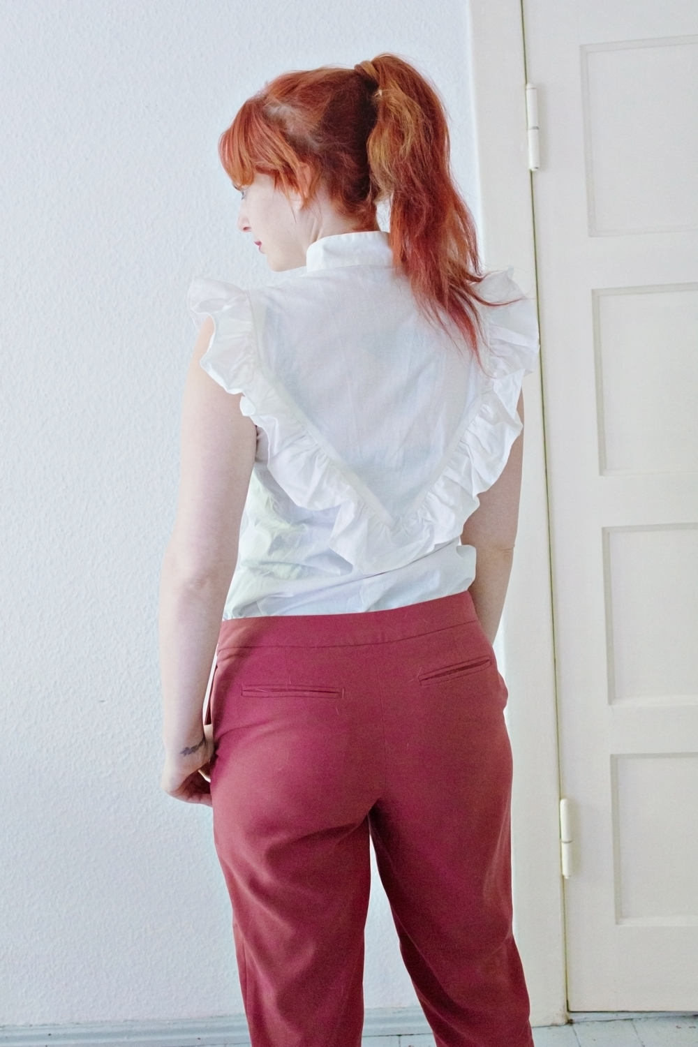 SEWING DIY | Two Step Blouse Upcycle
