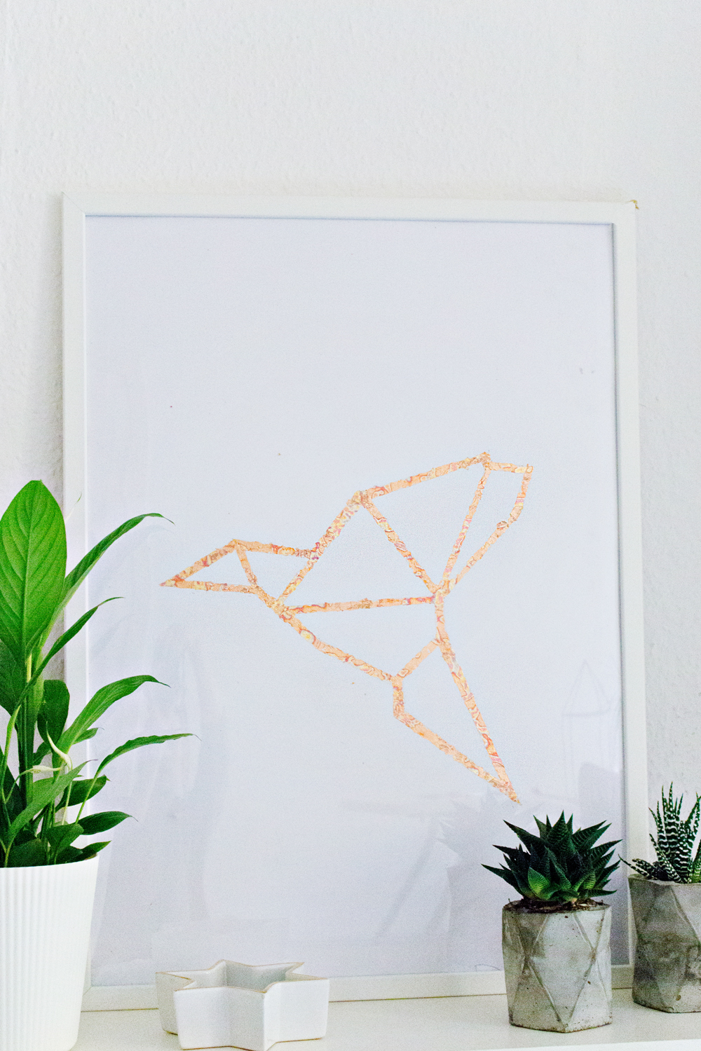 Wees geduldig wall sticker fun walls - Diy Art Copper Leafing