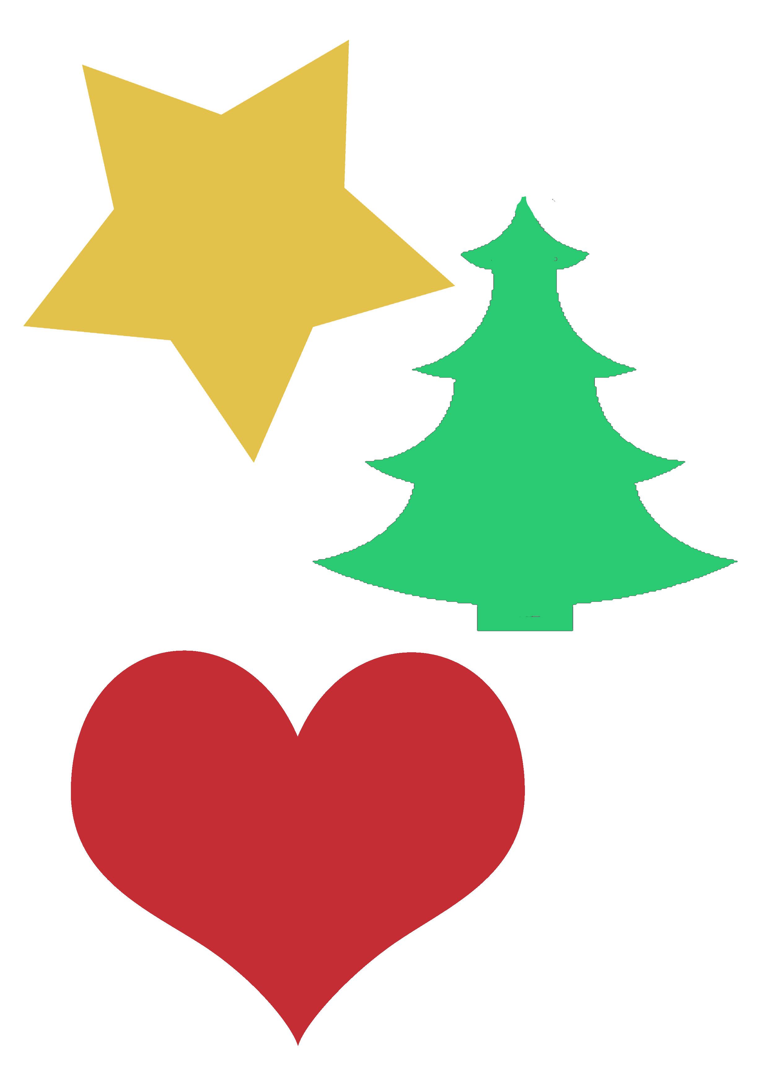 Christmas Ornament Shapes Part - 16: Lana Red Studio