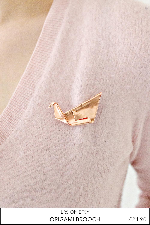 origami-brooch